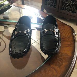 Gucci horsebit driving loafers size 9+ new